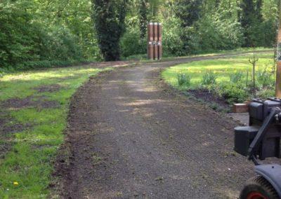 Schlosspark mit federzinkenegalisator voss (3)